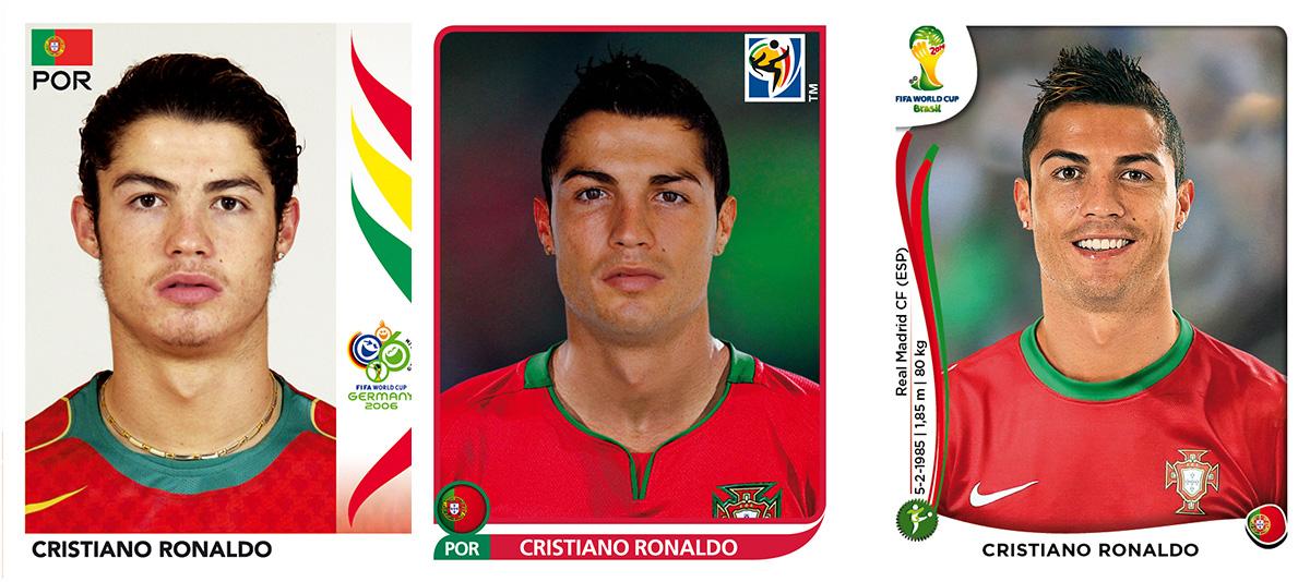 Cristiano Ronaldo Panini Sticker