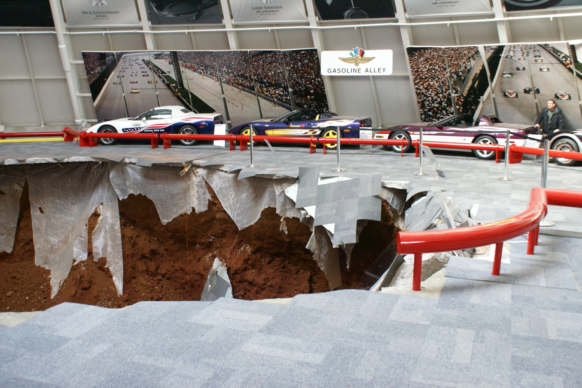 National Corvette Museum Skydome Sinkhole