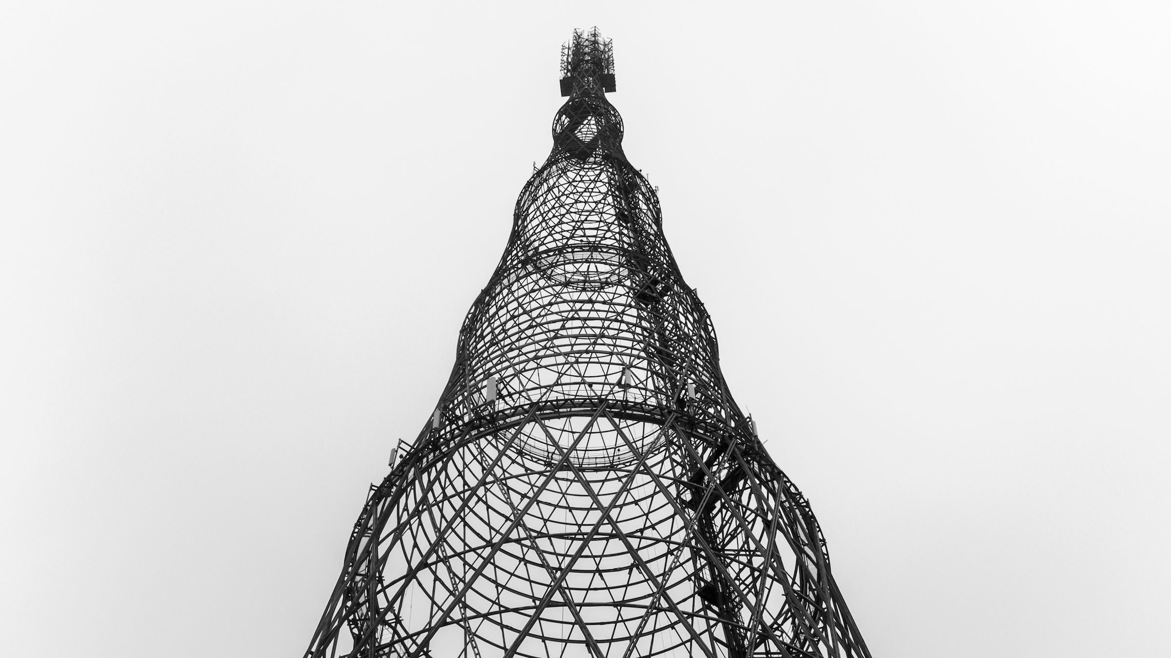 Photograph of Moscow's threatened icon the Shukhov tower