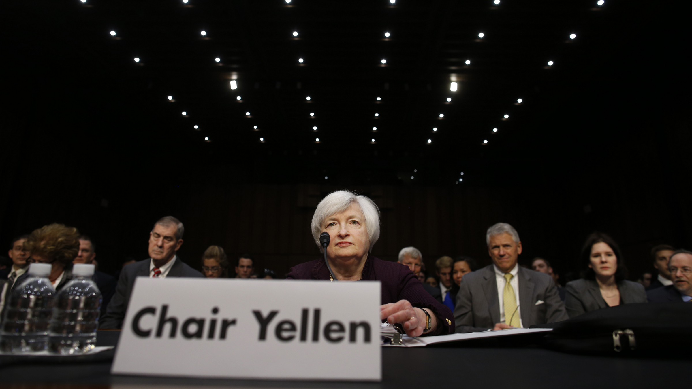 Fed Chairwoman Janet Yellen will over see Wednesday's FOMC press release