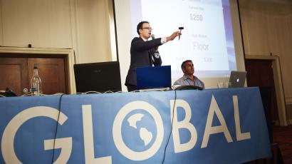 Auction for .global domains