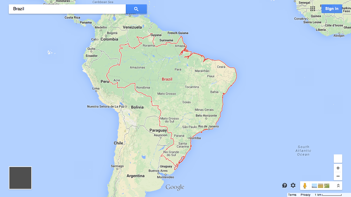 Here are the 32 countries Google Maps wont draw borders around Quartz