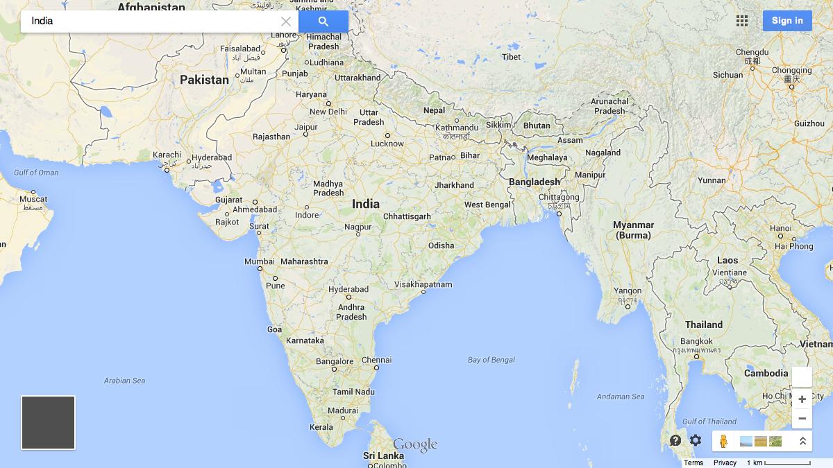 Here Are The 32 Countries Google Maps Won T Draw Borders Around Quartz