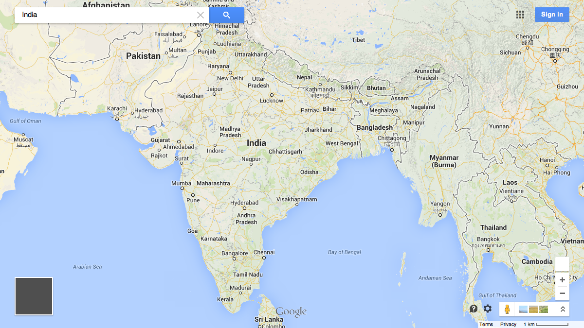 Here Are The 32 Countries Google Maps Won T Draw Borders Around Quartz
