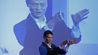 alibaba ipo alipay Jack Ma, chairman of China's largest e-commerce firm Alibaba Group, gestures during a conference in Hong Kong Wednesday, March 20, 2012. Ma expects 30 percent of China's total retail sales to be conducted online in five years' time. (AP Photo/Vincent Yu