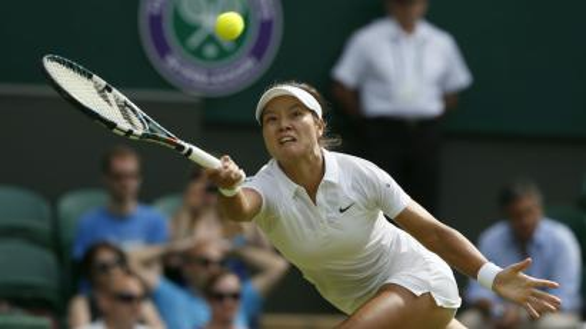 Li Na at Wimbledon