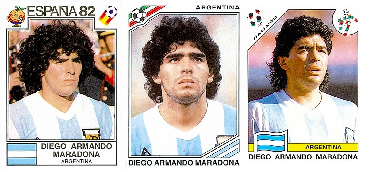 Maradona Panini Sticker
