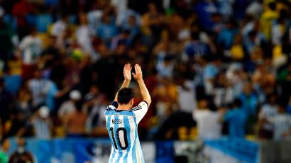 Too bad Messi can't win over Argentina's creditors, too