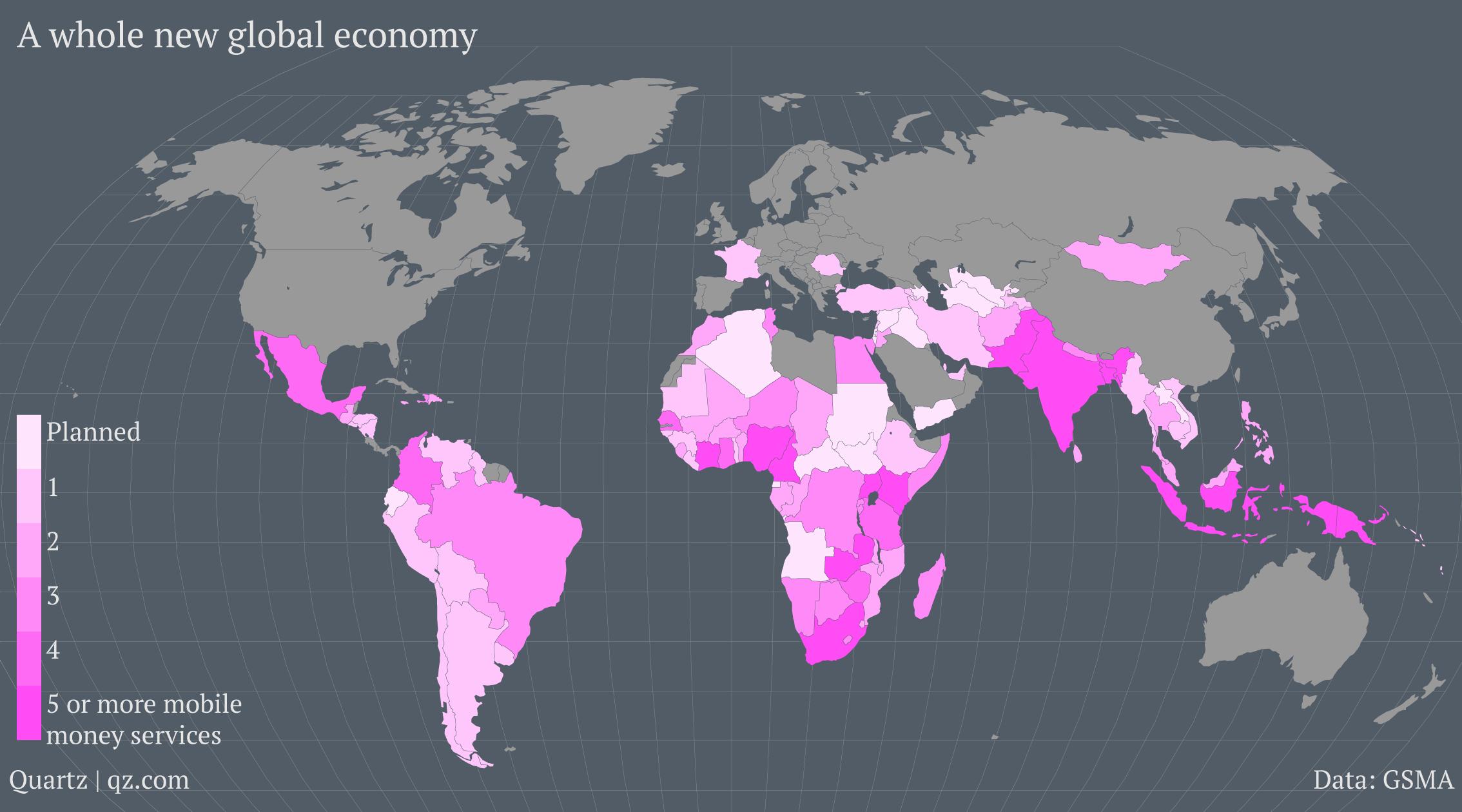 global-mobile-money-operators