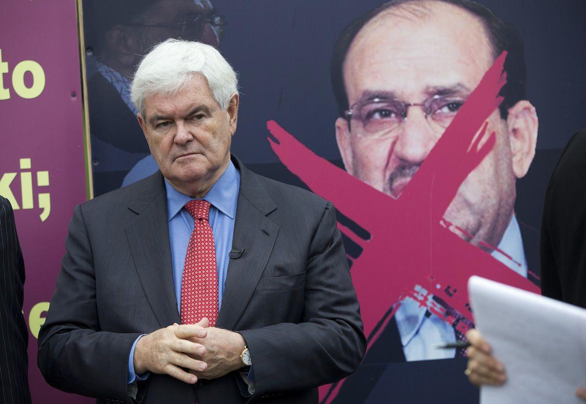 Newt Gingrich, Nuri al-Maliki
