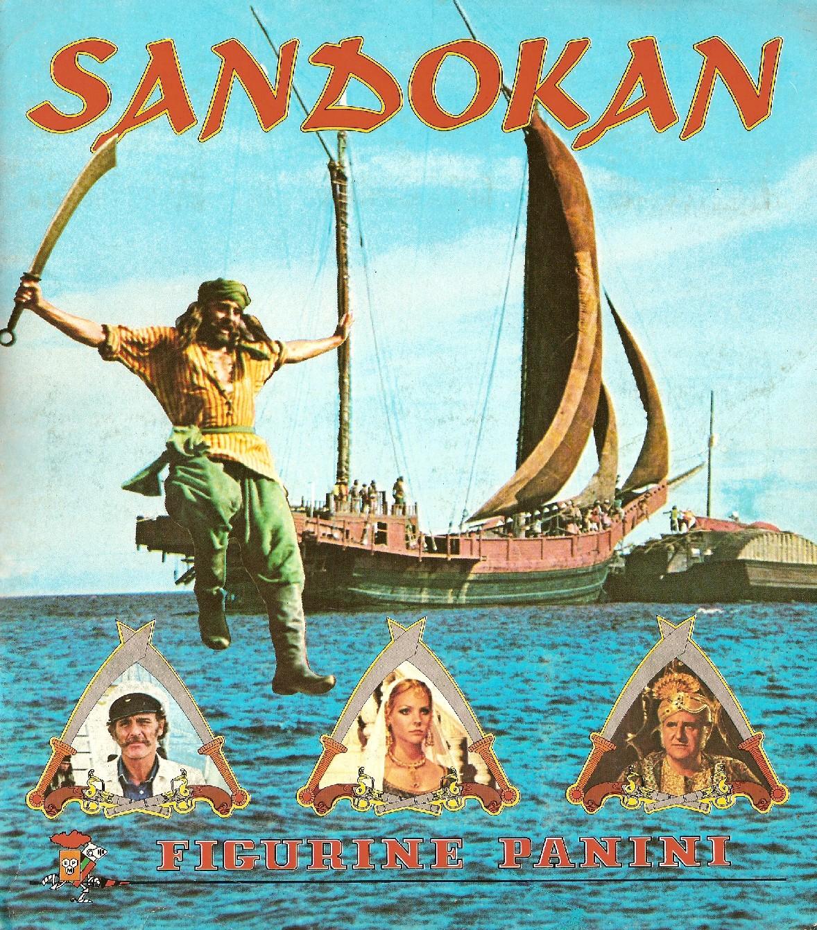 Panini Sandokan Cover