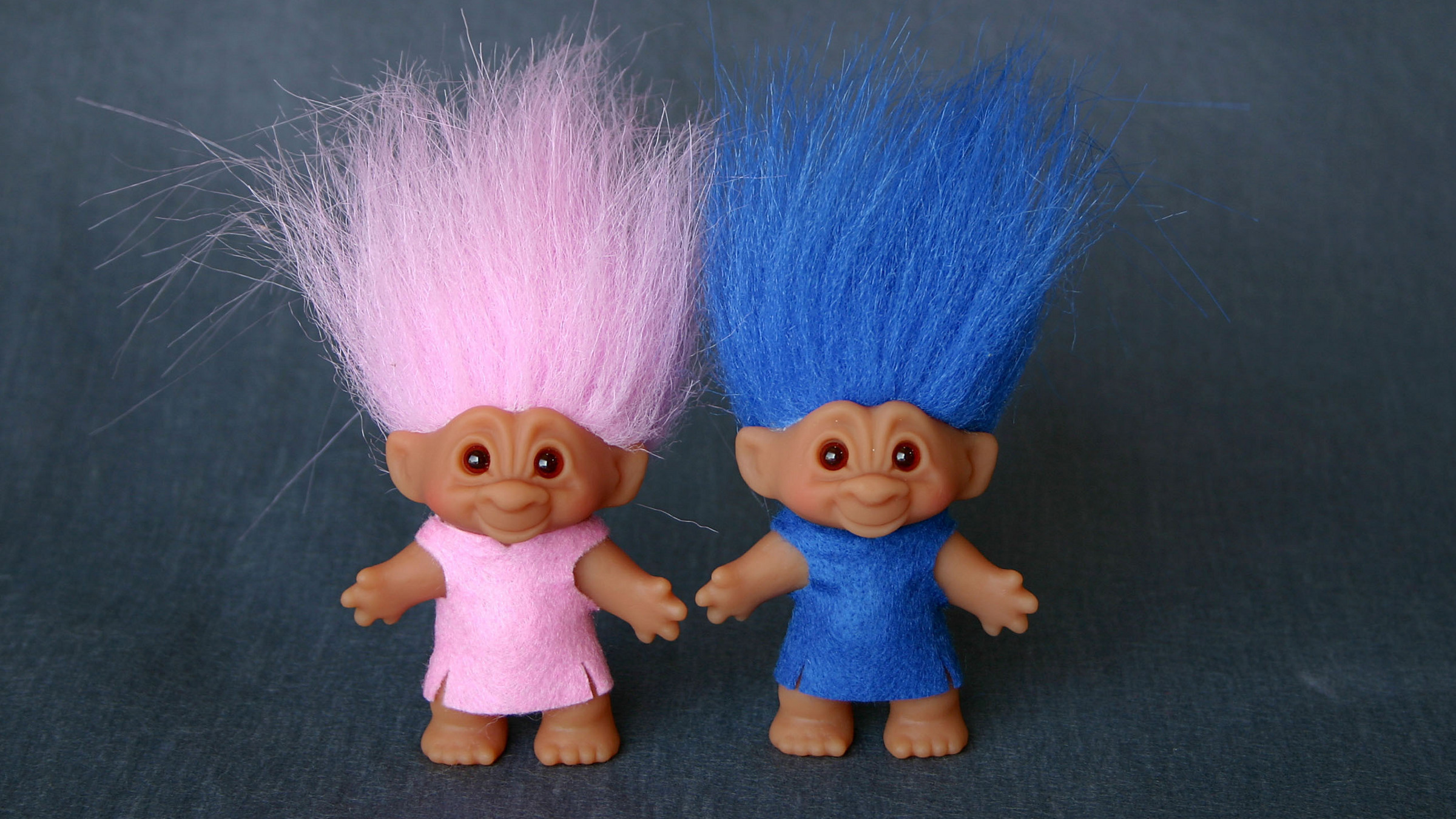 DreamWorks Animation brings Good Luck Troll Dolls out of hiding.