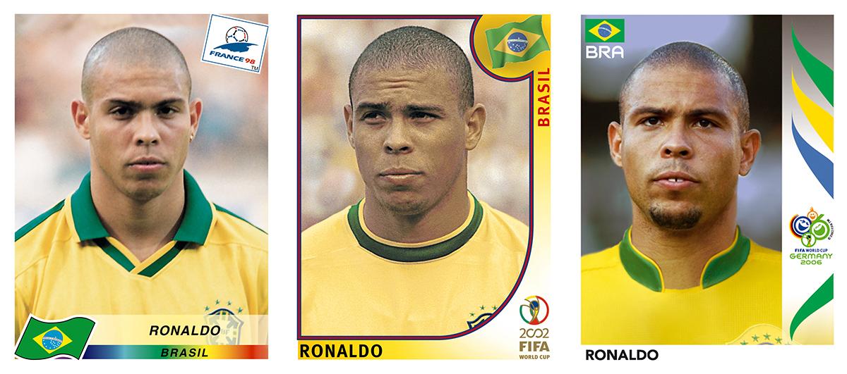 Ronaldo Panini Sticker