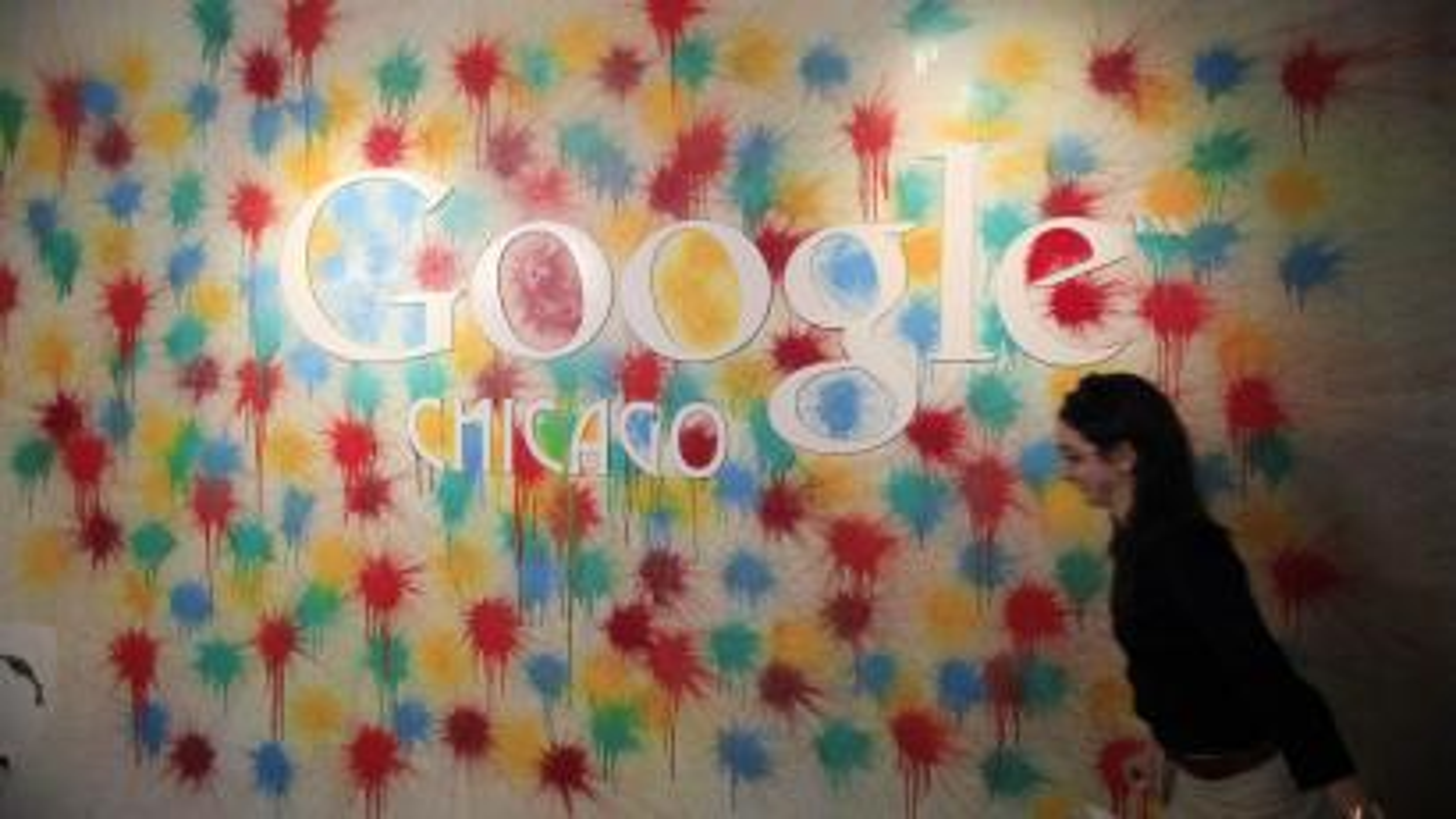 Entrance of Google Chicago
