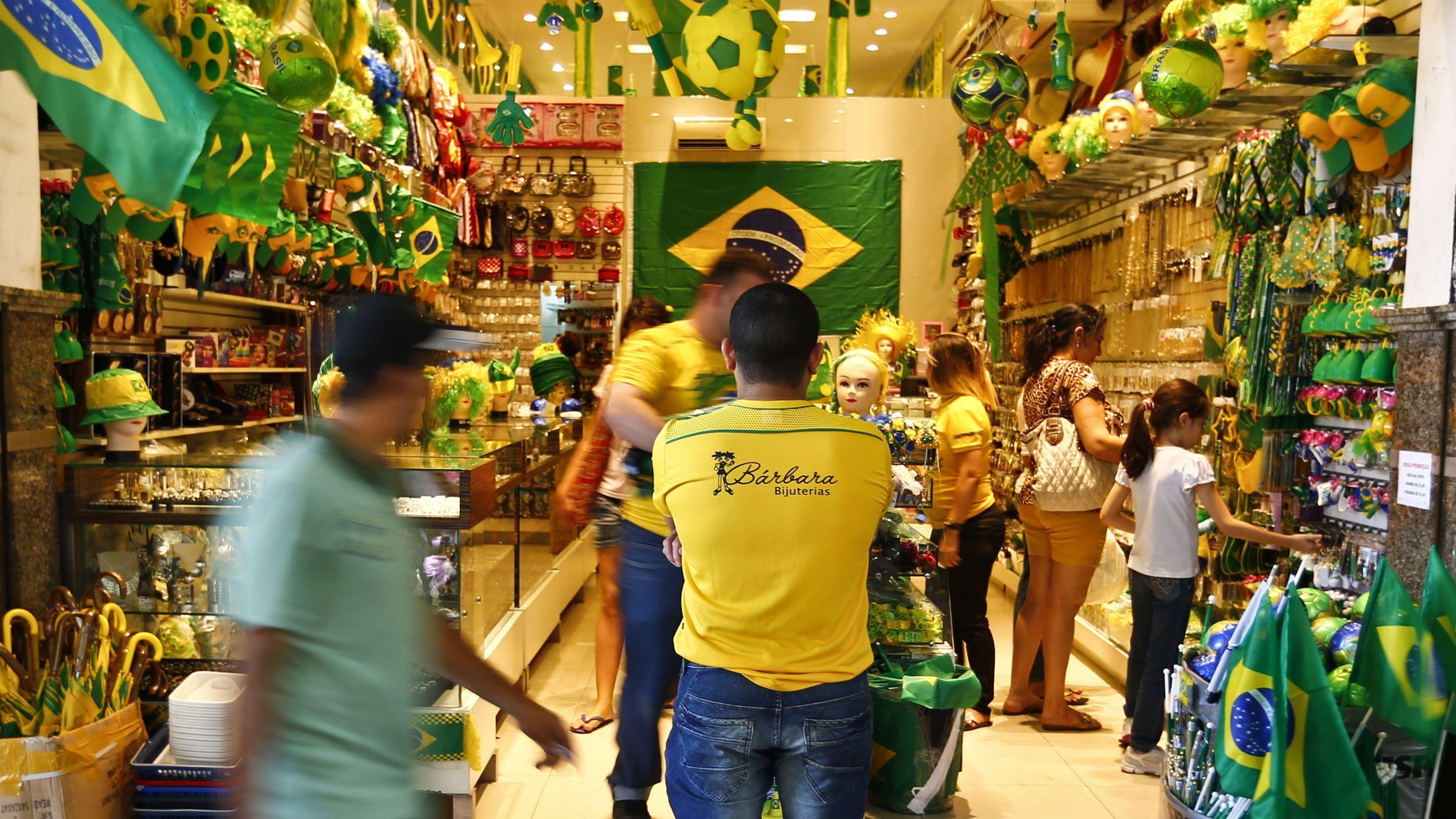 Souvenir store in Brasil