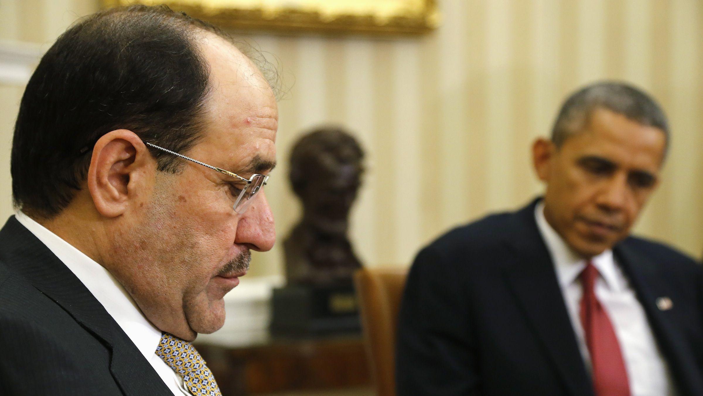 Barack Obama and Nuri al-Maliki