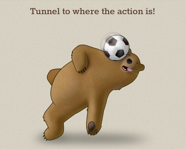 TunnelBear World Cup promotion