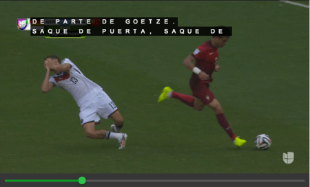 Univision World Cup live stream