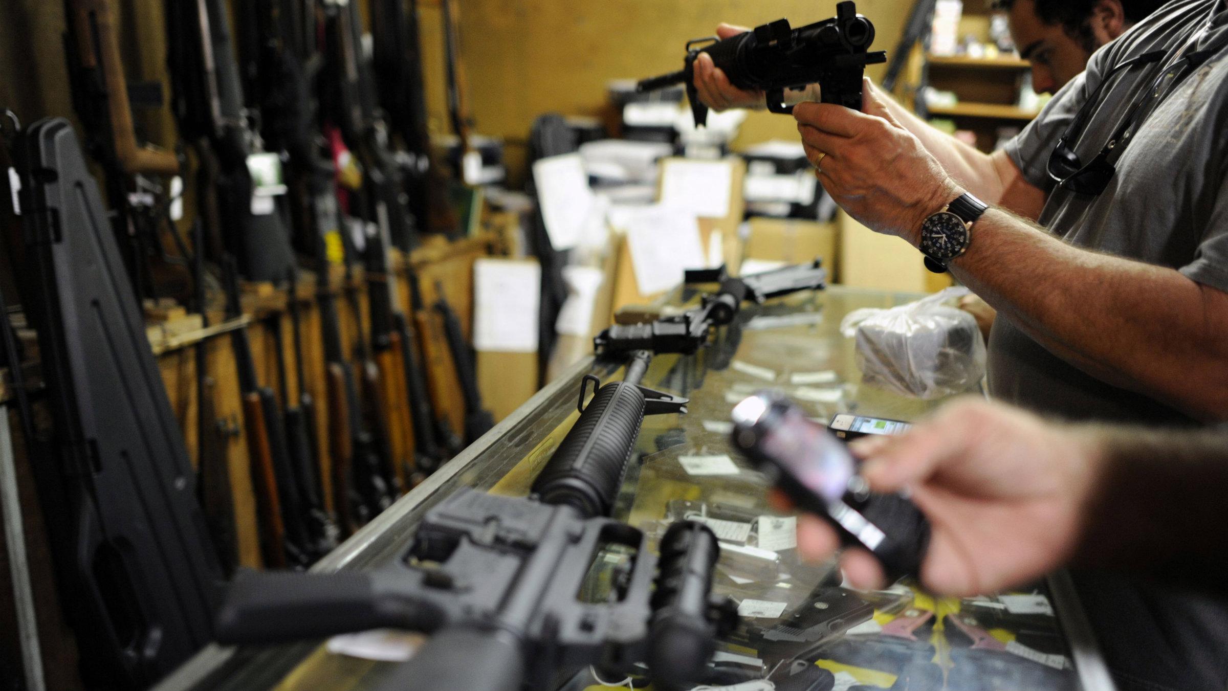 Gun control. Smith & Wesson. Guns