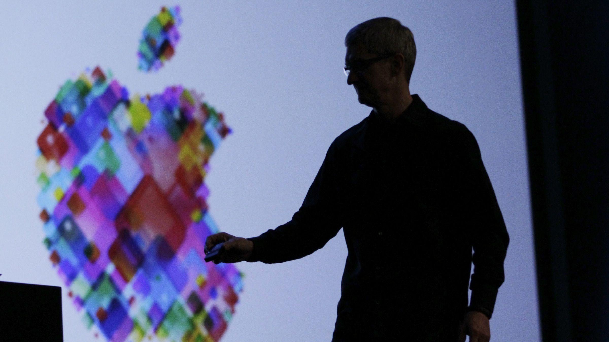 Apple logo homosexual discrimination