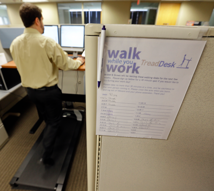 Treadmill Desk Hire Brisbane: Exercise Doesn't Reverse The Harm Of Being Sedentary And