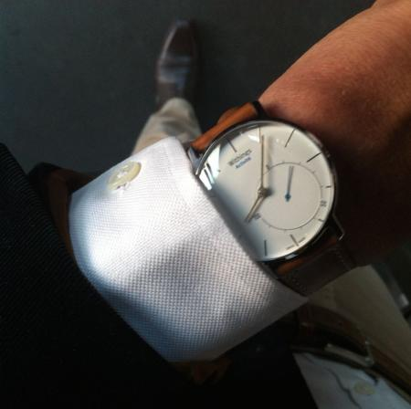 Eric Careel's Withings Activité smartwatch