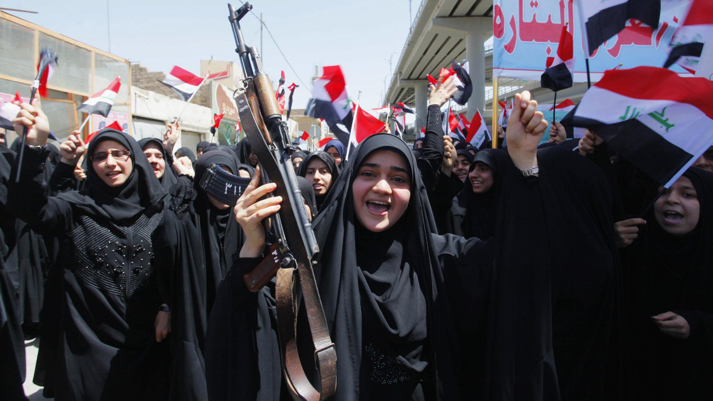 Iraqi women organize to resist ISIS.