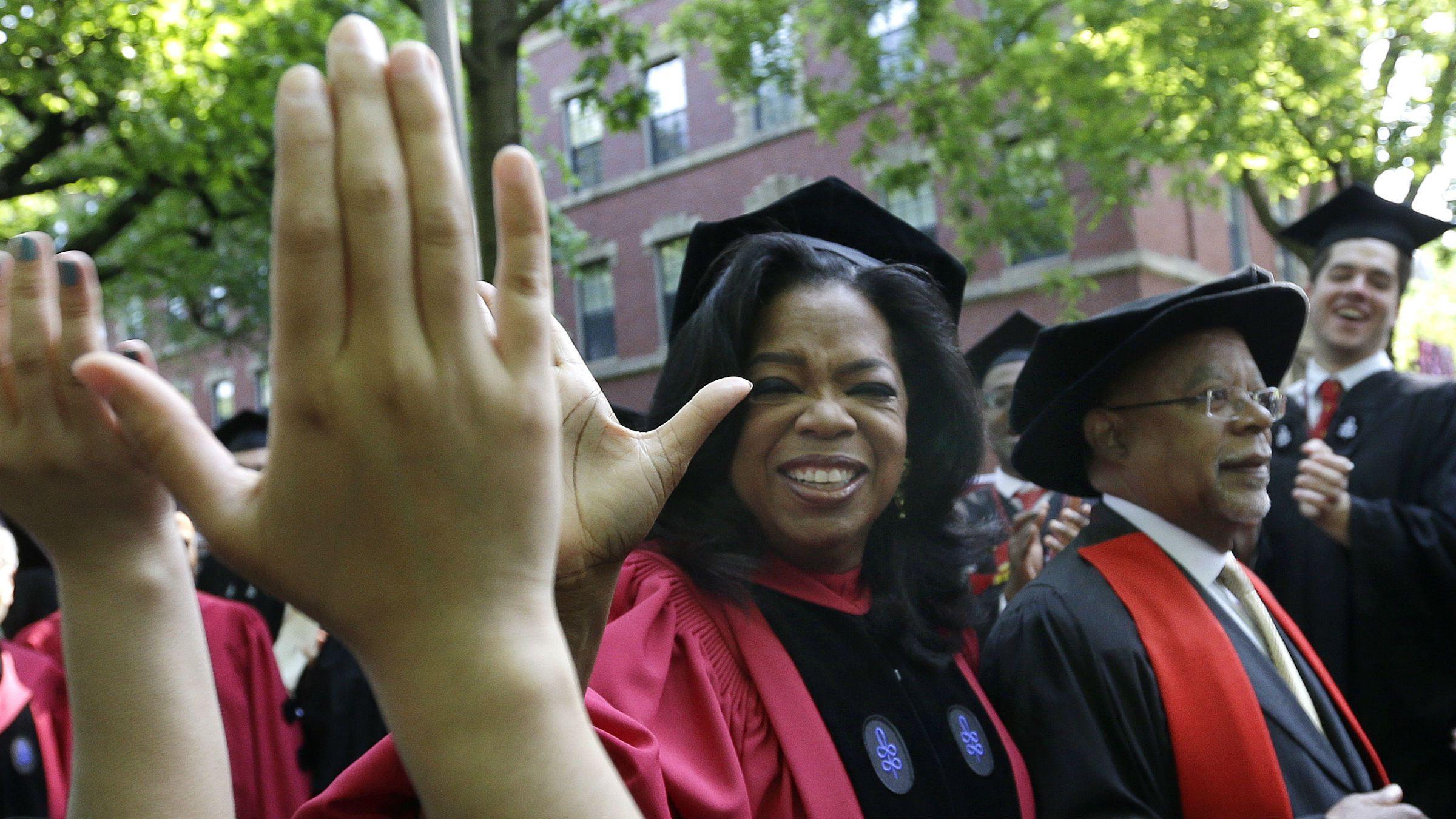 Oprah at Harvard
