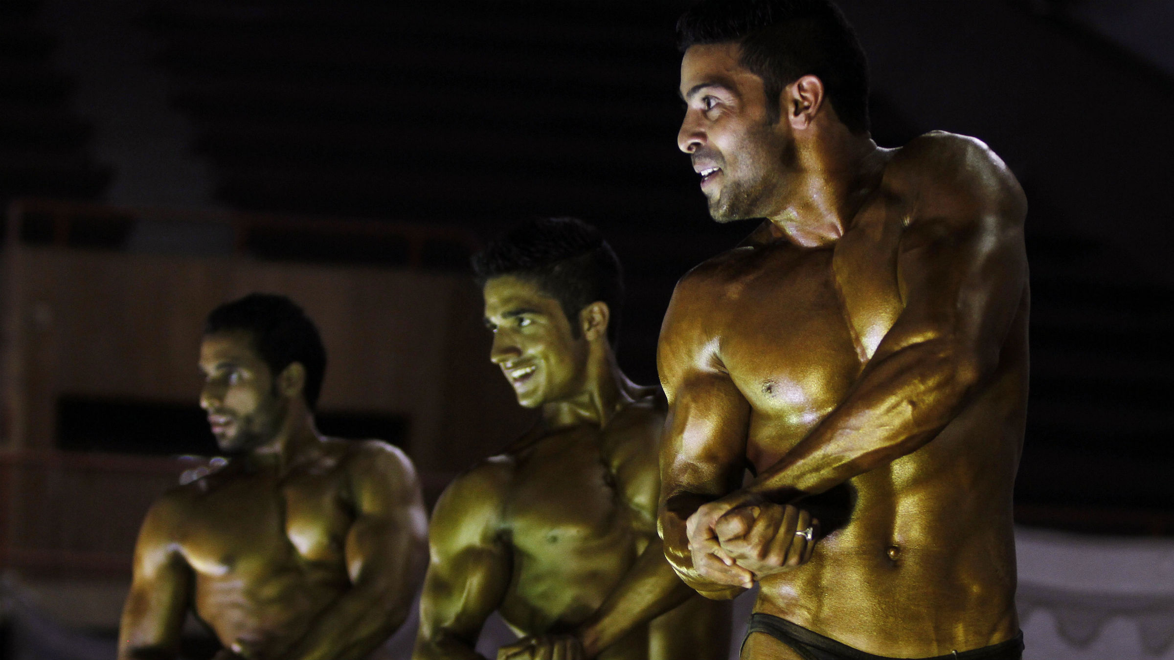 Body building competition