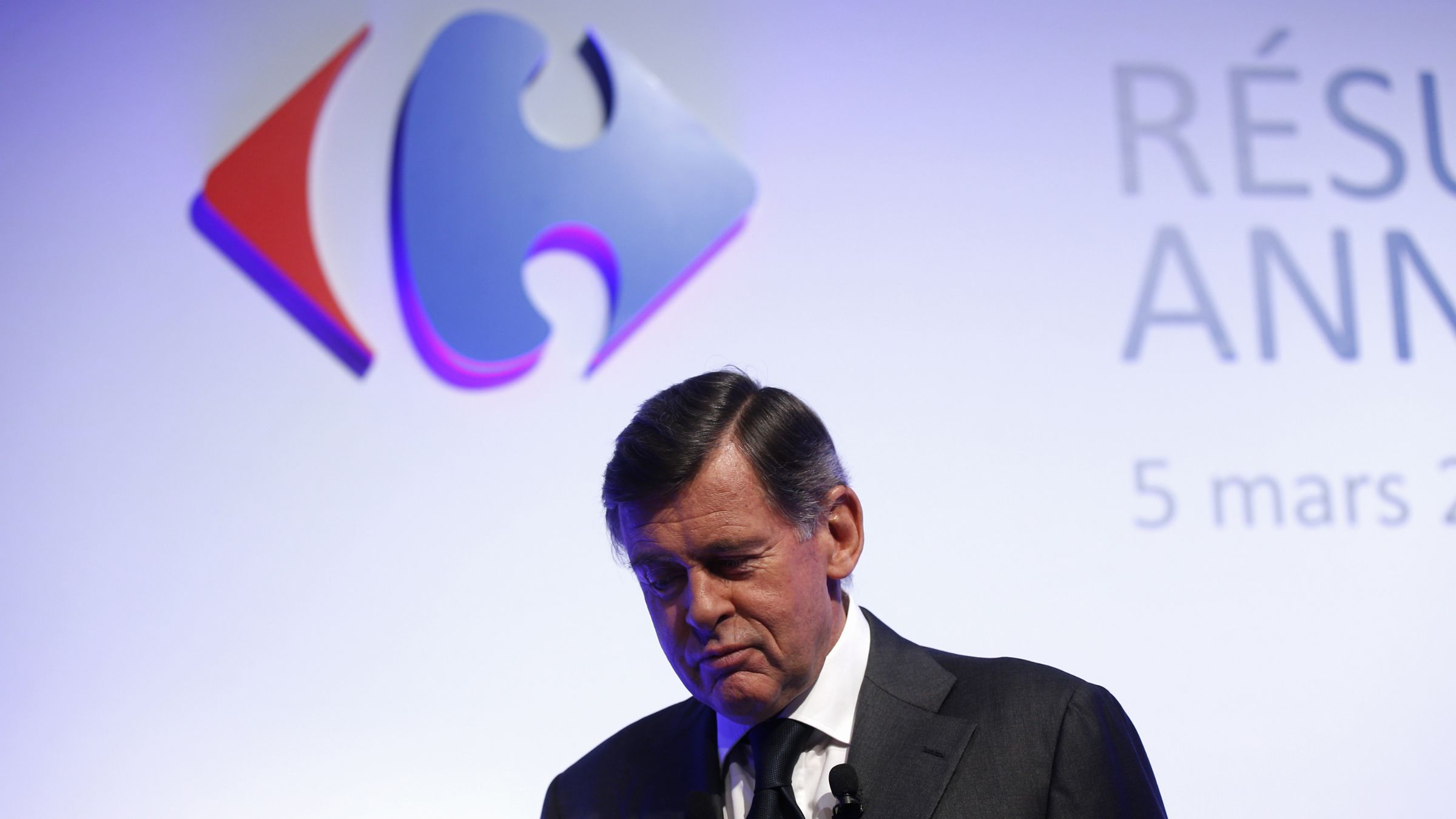Carrefour-CEO