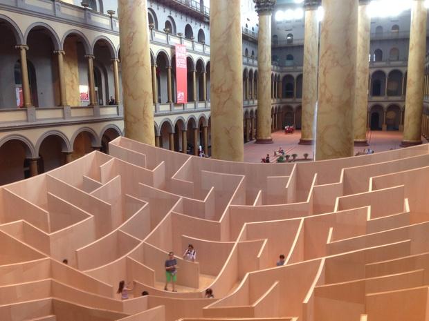 DC maze