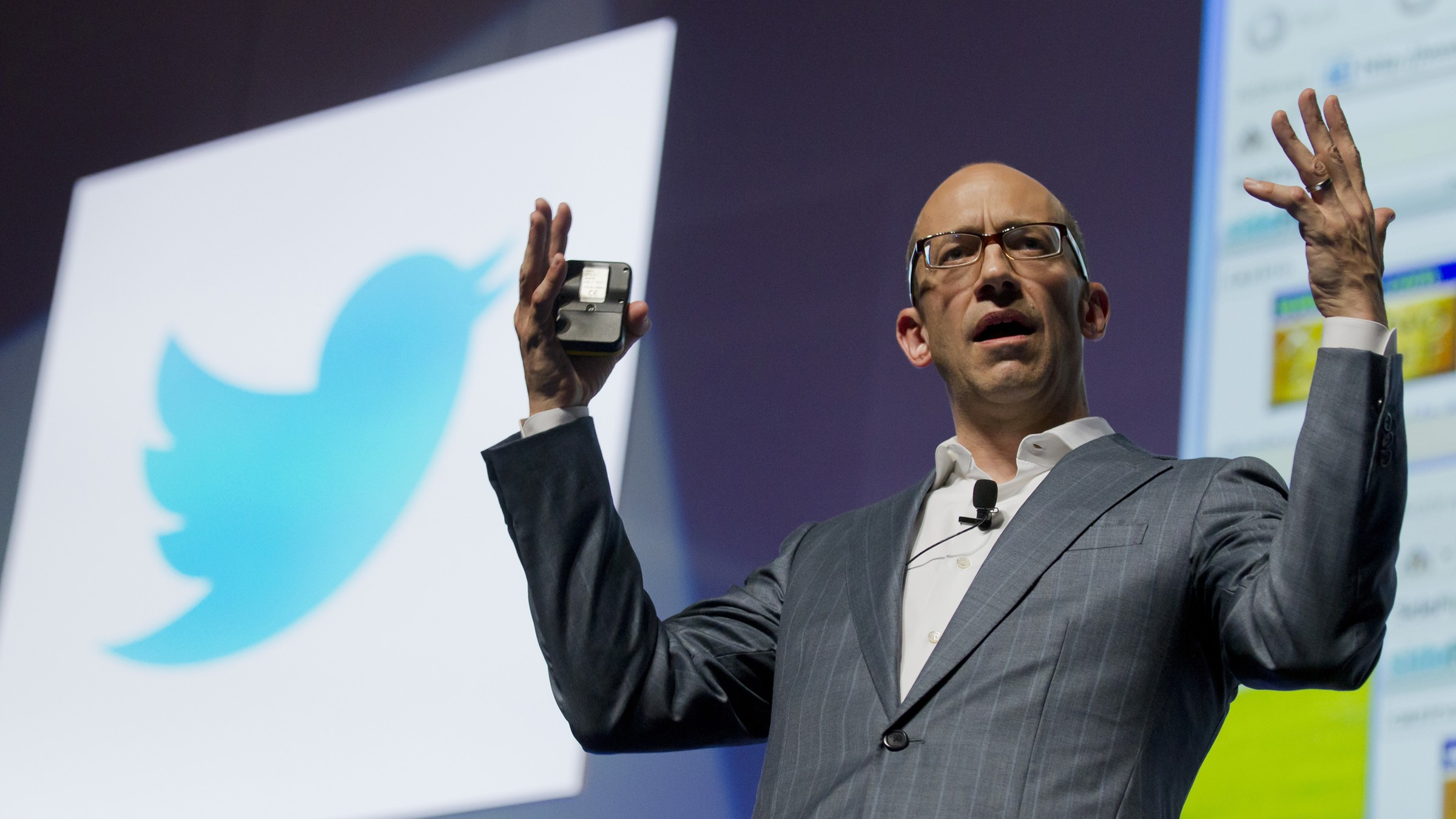 Twitter CEO Dick Costolo at Cannes Lions