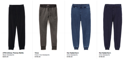 mens sweatpants, fashion, menswear