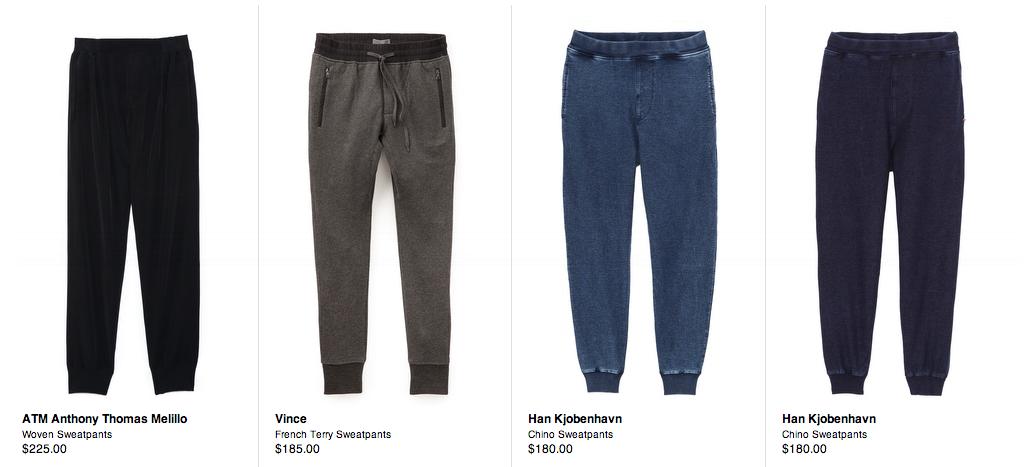 mens sweatpants, fashion, menswear