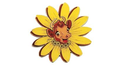 Elsie the Cow daisy logo