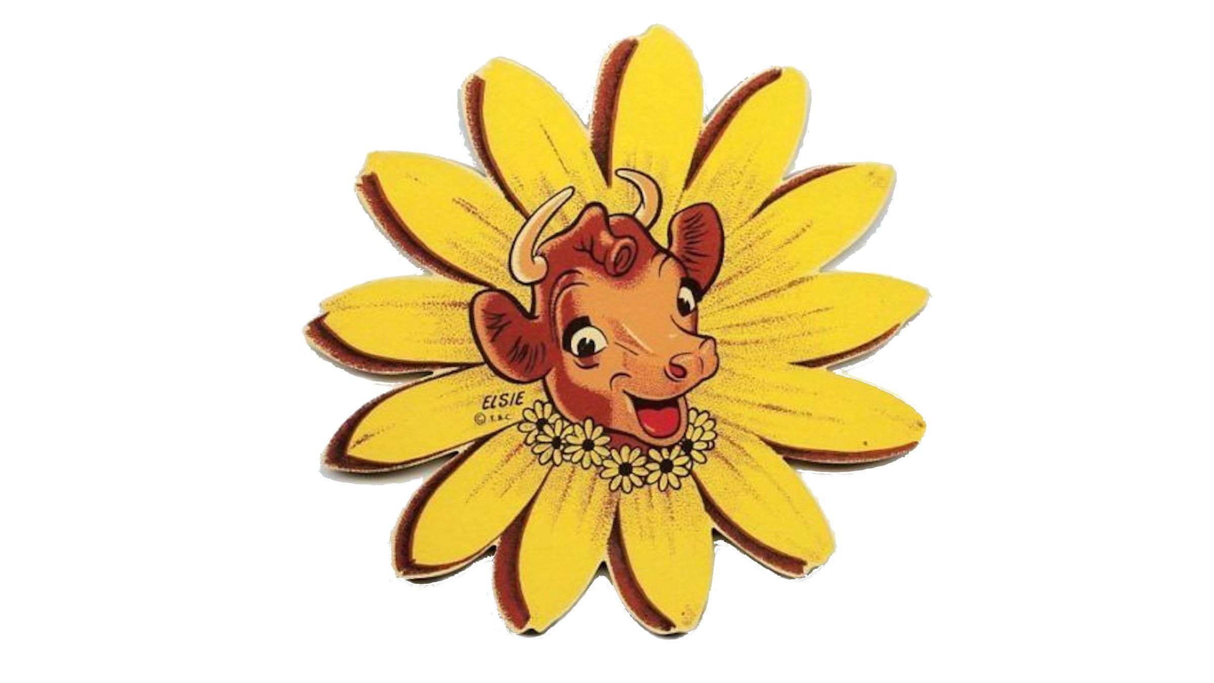 Elsie the Cow daisy logo