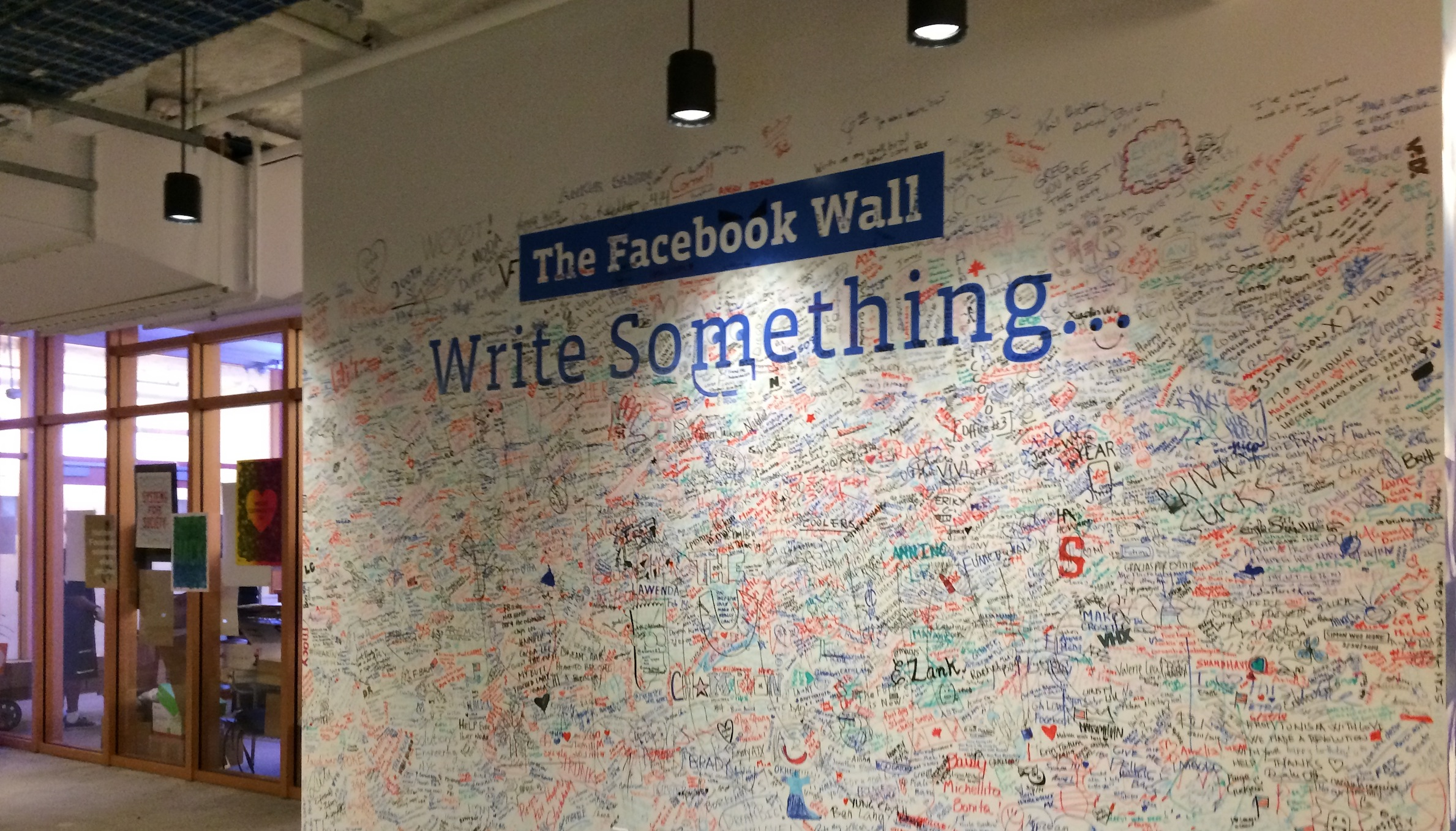 office facebook. Facebook Wall 3 Office