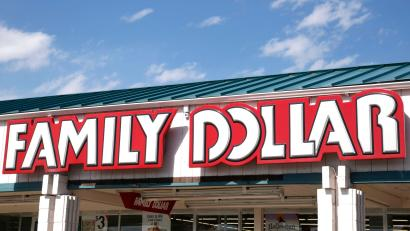 The sign outside the Family Dollar store in Arvada
