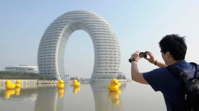 A Chinese hotel designed by MAD Architects