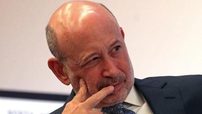 Goldman Sachs Group, Inc. Chairman and CEO Blankfein moderates a panel discussion at North American Energy Summit in New York