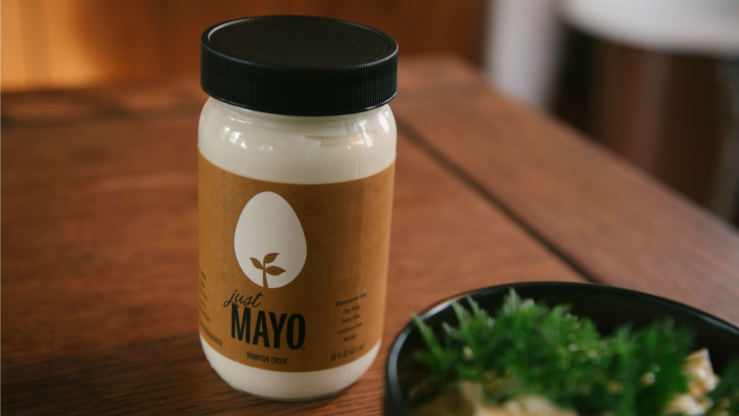 a jar of Hampton Creek's best-known product