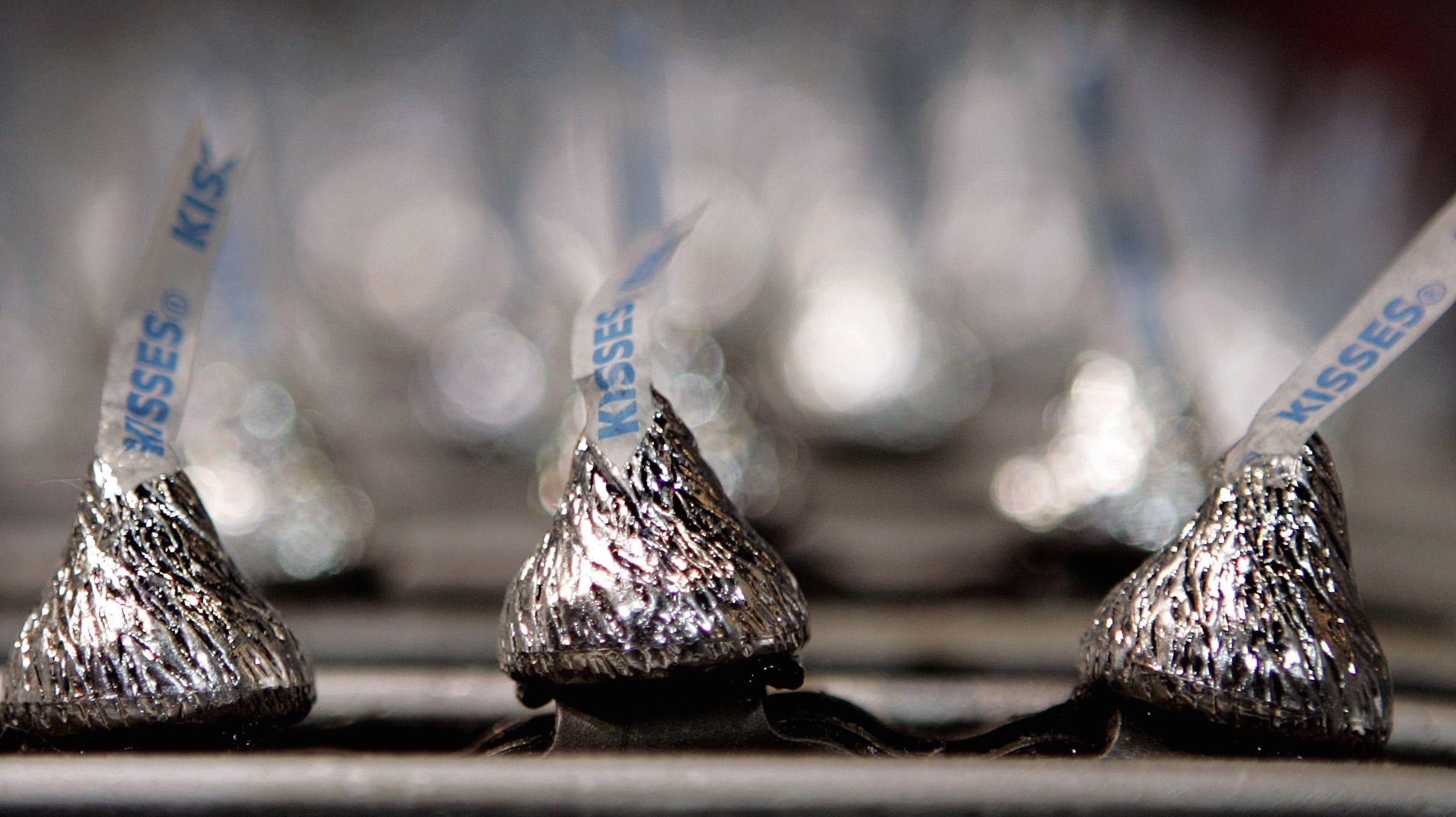 hershey kiss chocolate