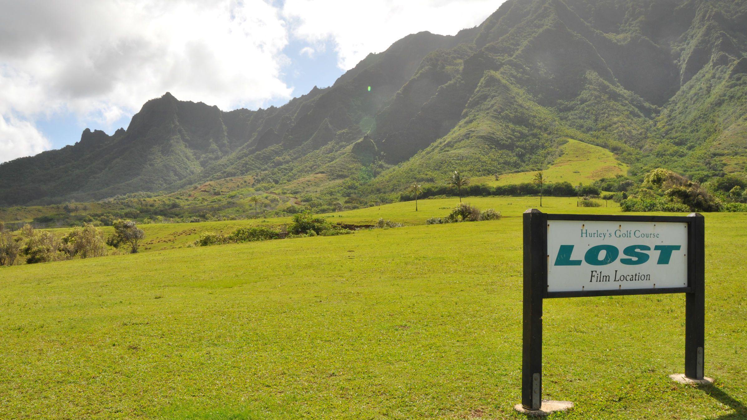 'LOST' set location in Hawaii