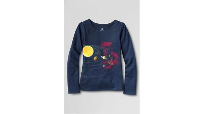 Lands' End tee for girls, gender, kids' clothes