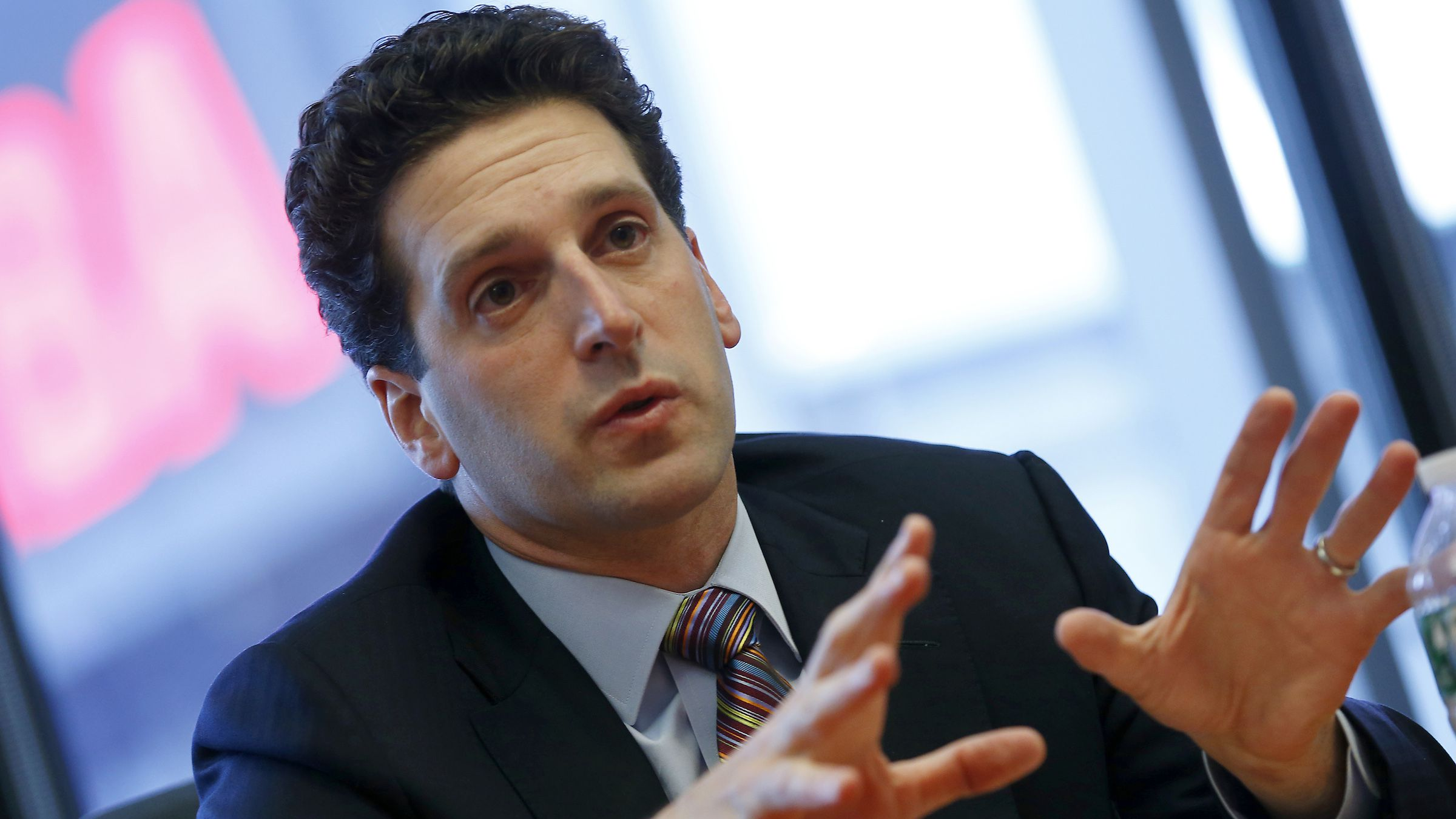 New York State Department of Financial Services Superintendent Benjamin Lawsky speaks during the Reuters Financial Regulation Summit in New York, April 29, 2014.   REUTERS/Mike Segar   (UNITED STATES - Tags: BUSINESS POLITICS) - RTR3N3QW