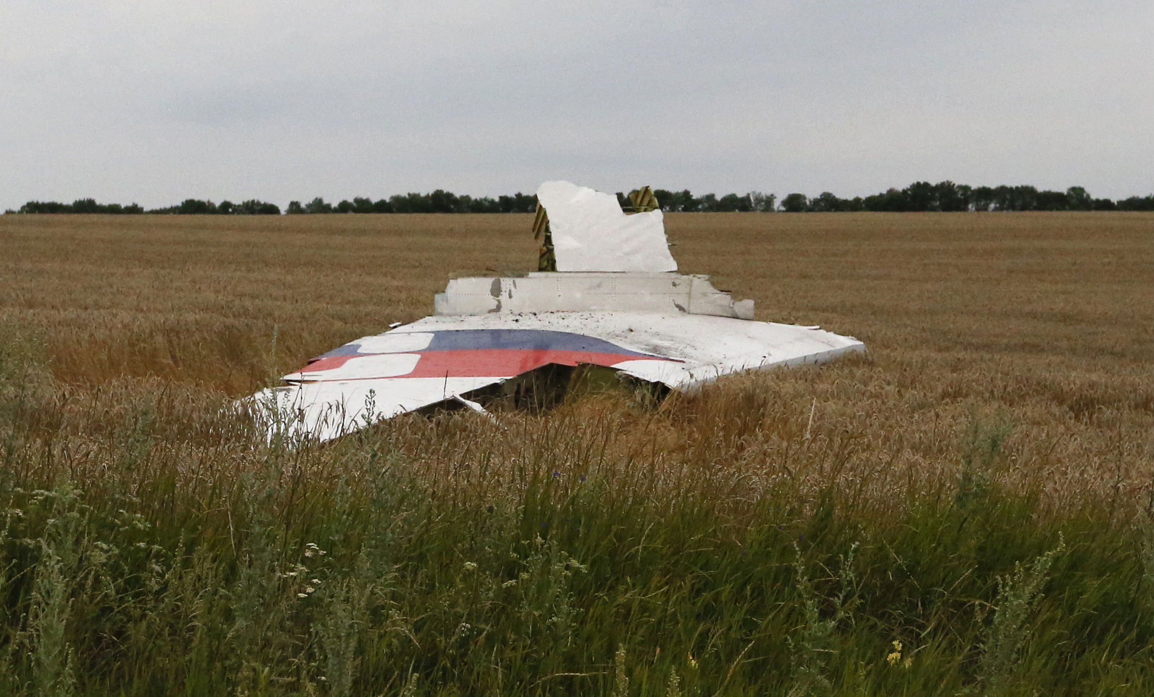 Wreckage Malaysian Airlines Ukraine