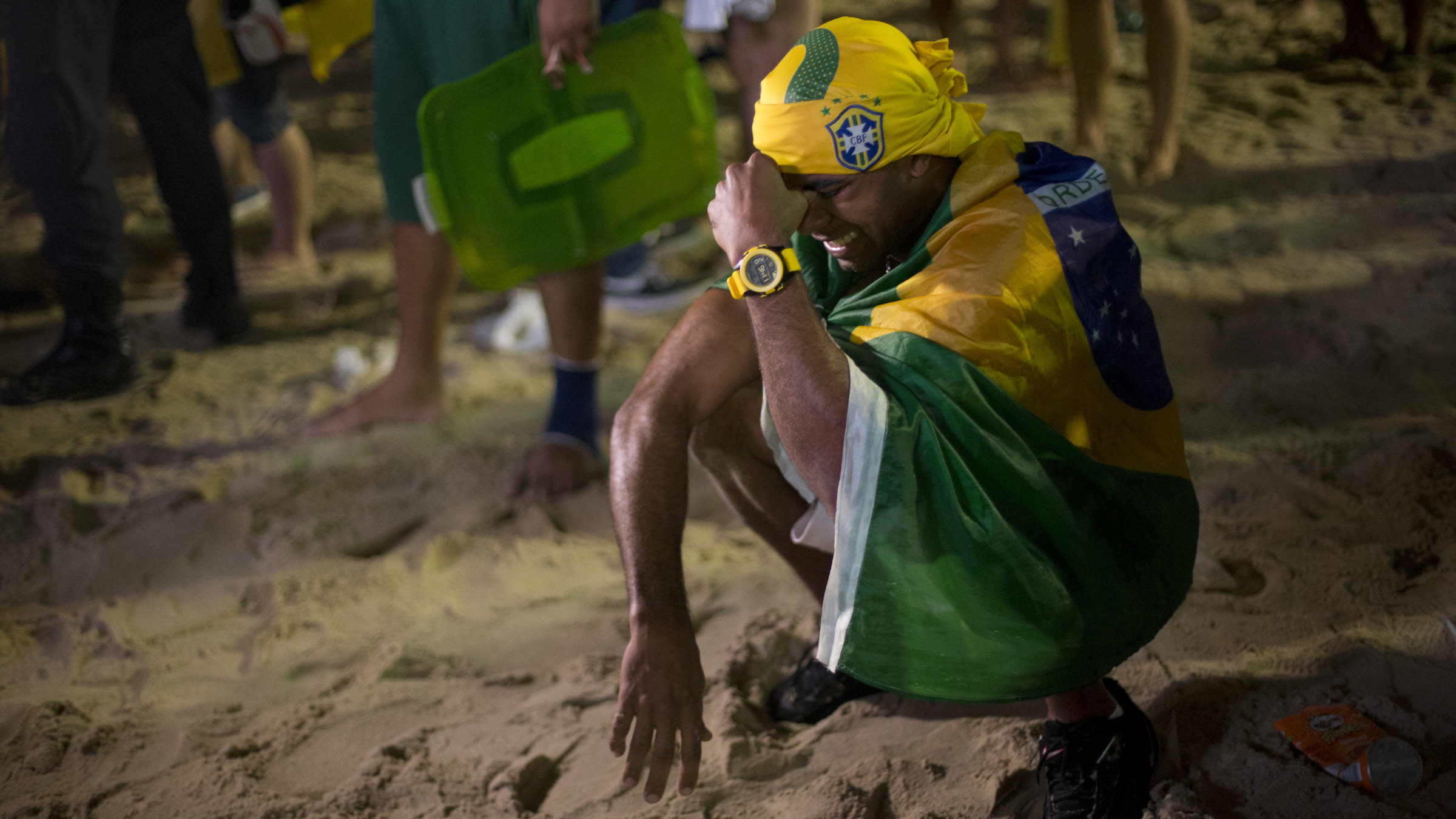 Brazil's loss triggers emotions throughout the body