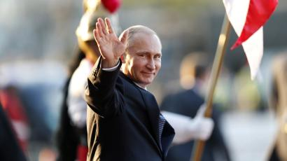 Putin at the BRICs summit in Brasilia on July 16.