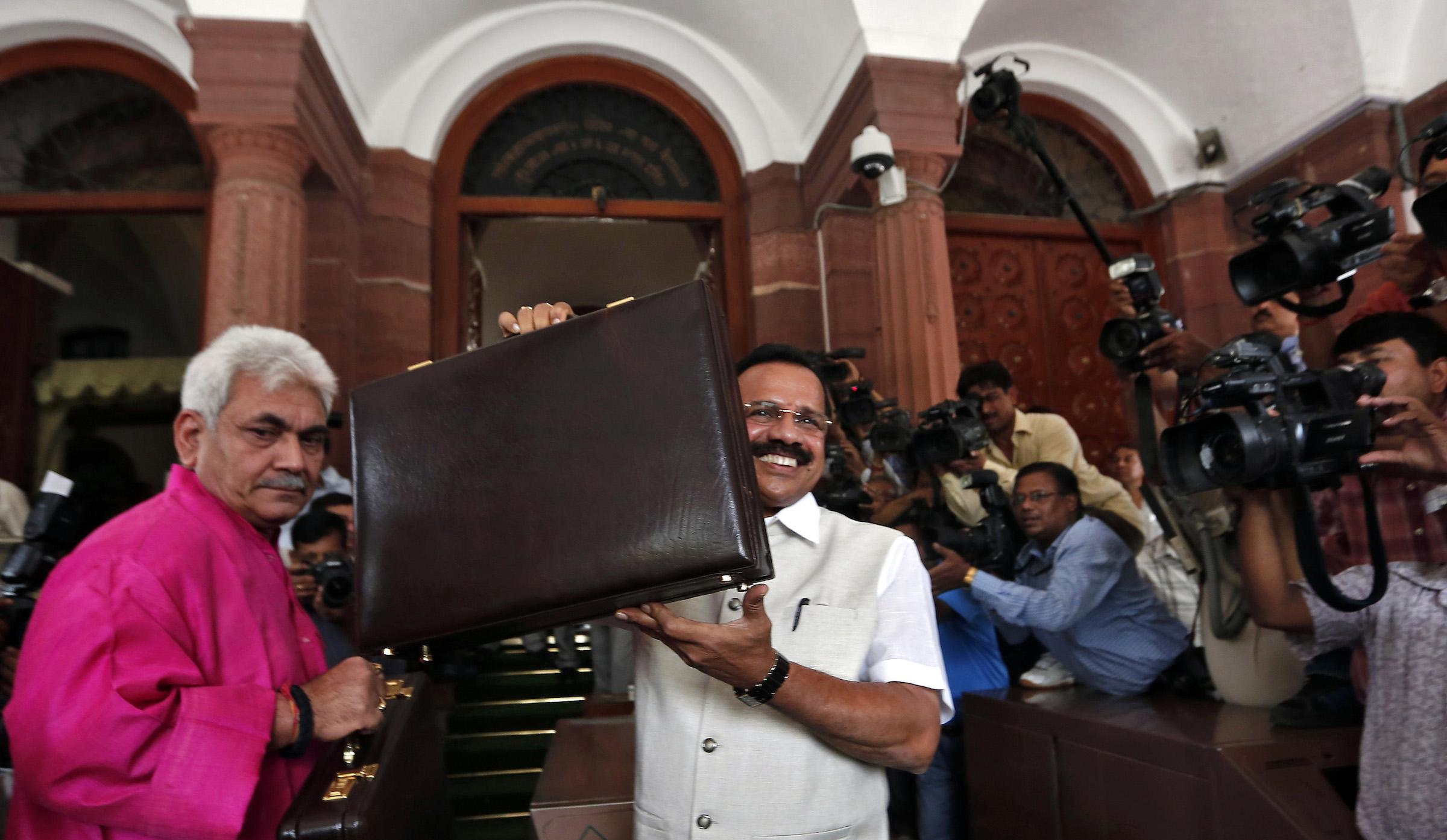 Sadananda Gowda presented his first rail budget.