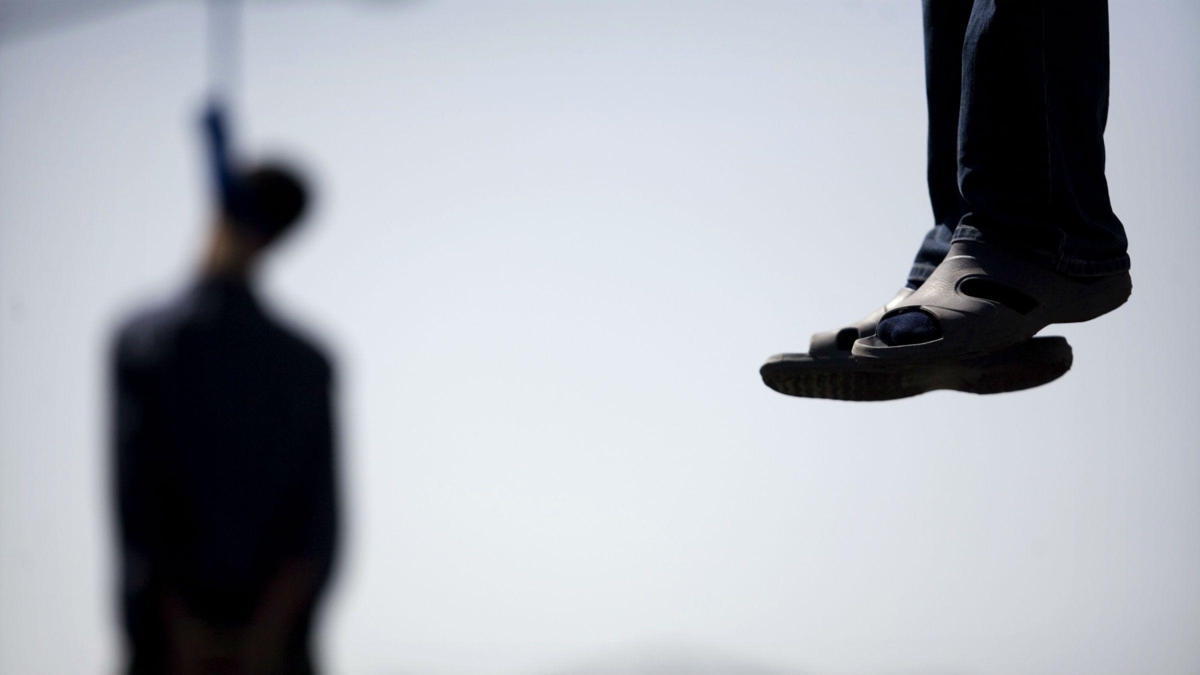 Hung men in Iran